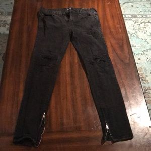 Men's PacSun Skinniest Ripped Jeans